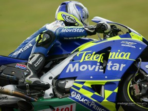 Podium and front row run ends for Sete