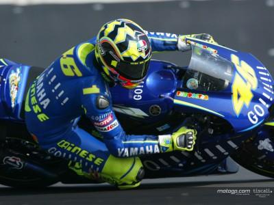 Rossi ricorda con disappunto la caduta di Rio