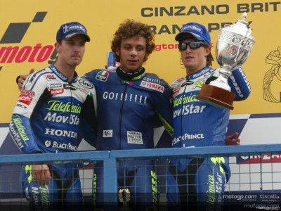 Rossi celebrates once again at Donington Park