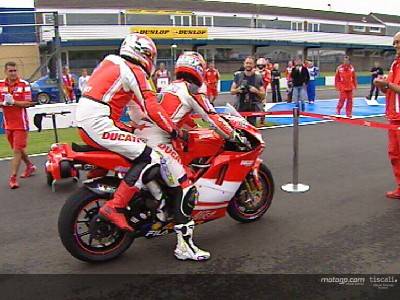 Riders for Health, primera ganadora en Donington