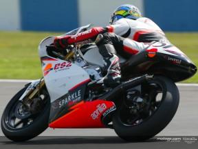 De Angelis guadagna la prima pole provvisoria nella 250cc