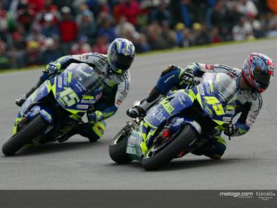 Edwards überglücklich nach seinem ersten MotoGP Podium