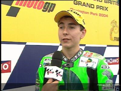 Lorenzo entra en el podio en Inglaterra, pero quiere más