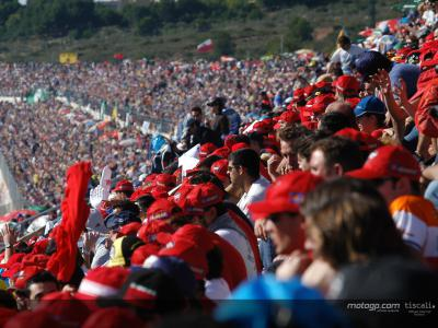 MotoGP registers record attendances in first half of season