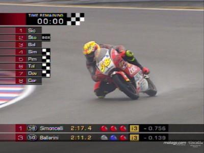 Simoncelli in pole provvisoria 125cc a Brno