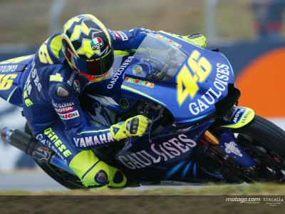 Rossi hoping for dry on day two