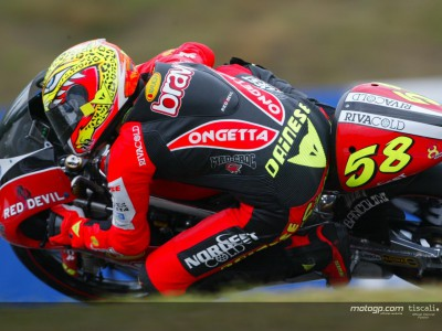 Simoncelli steps up the pace to maintain pole