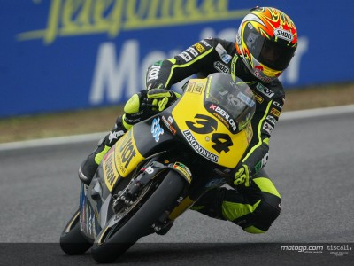 Dovizioso y Corsi anotan un doblete para el Scot Honda