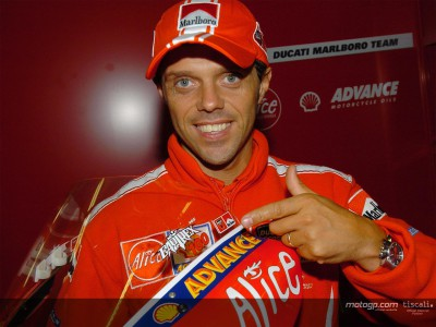 Capirossi to make 100th start in Portugal