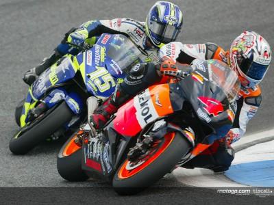 Letztes Rennen in Estoril mit Barros und Gibernau