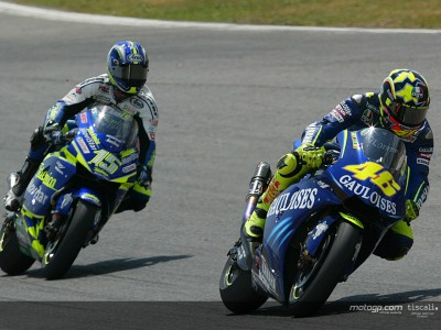 Rossi holds slim advantage in chase for BMW