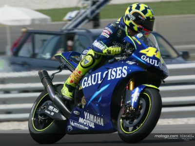 Rossi happy with race set-up
