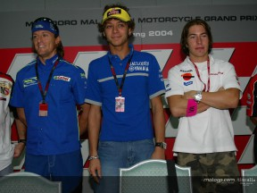 Heat rises between Rossi and Gibernau