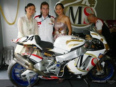 McCoy back in the MotoGP paddock