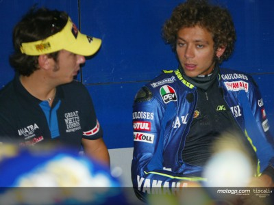 Rossi happy despite missing pole