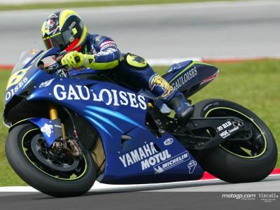 Rossi, el más rápido en el segundo entrenamiento libre