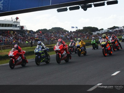 Last year at Phillip Island