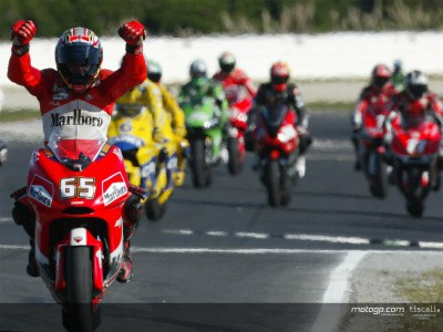 Ducati back on the podium