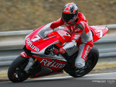 Checa se despide de Yamaha en Valencia