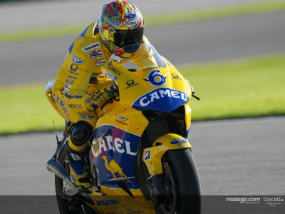 Tamada takes final pole of 2004