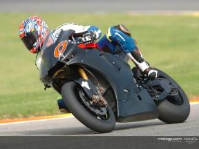 Rossi étrenne la nouvelle M1