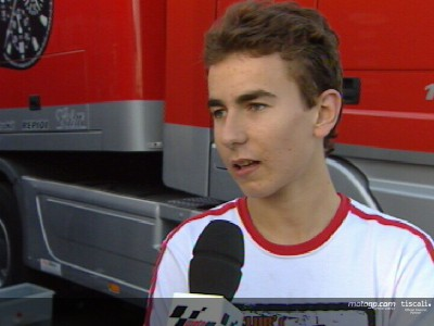 Lorenzo in sella all´Honda RSW