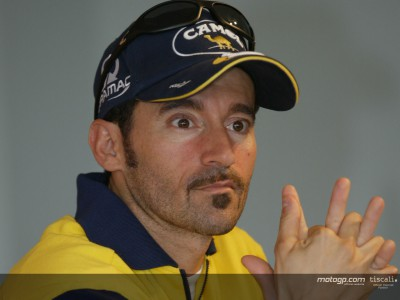 Biaggi back on his feet after surgery