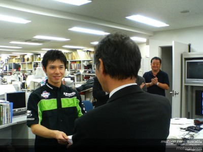 Nakano helps earthquake victims in Japan