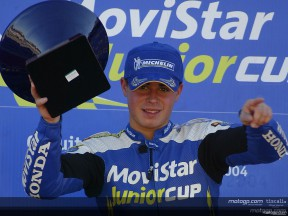 Ion Garrido, campeón de la Movistar Junior Cup 2004