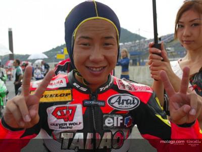 Tomoyoshi Koyama pronto para os Grandes Prémios