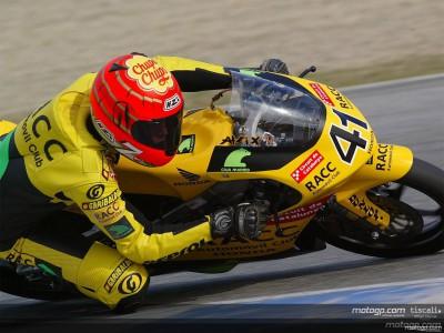 Corsi remporte sa première course sur Aprilia