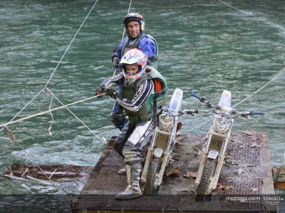 French riders display adventurous side