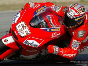 Ducati debut with Bridgestone at Jerez