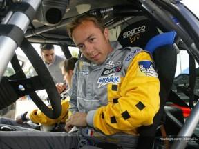 Olivier Jacque participa en el Rally de Var