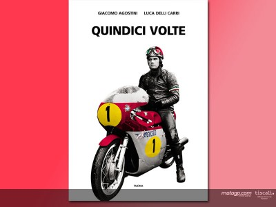 'Fifteen Times', the biography of Agostini is launched