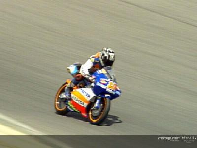 Nico Terol lines up alongside Nieto at Caja Madrid Derbi Racing