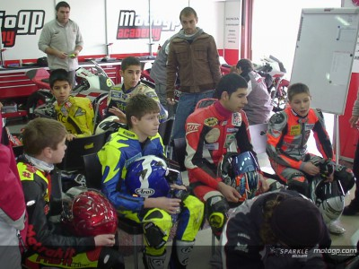 First test for the 2006 MotoGP Academy