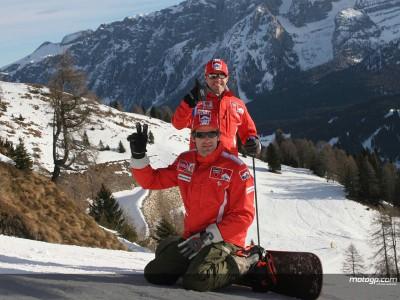 Ducati trifft die Presse in Italien