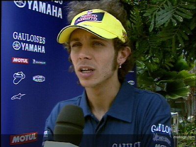Rossi points to race pace