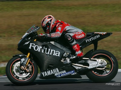 Xaus pays for blistering pace of Yamaha