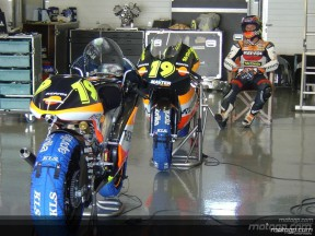 Cold snap freezes lap times at Jerez