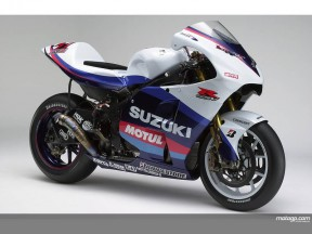 Suzuki unveil new-look GSV-R