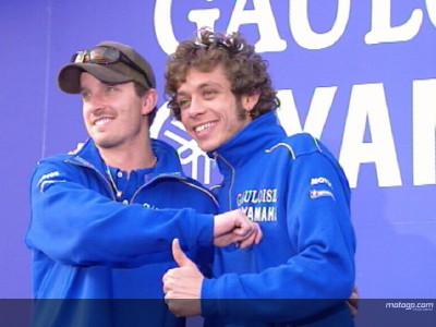 Il team Gauloises Yamaha sulle piste della Valtellina