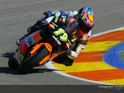 バレンシア合同テスト: ポルト連続トップタイム