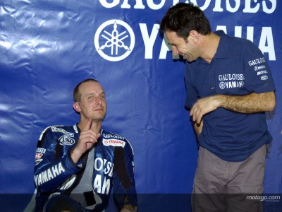 Yamaha riders 'taking it easy'