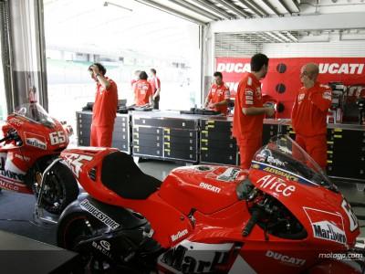Rossi und Capirossi durch Krankheit nieder gestreckt