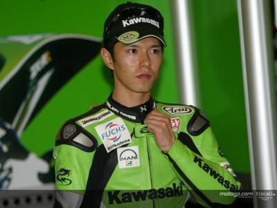 Nakano evalúa el nuevo motor `big bang´ de Kawasaki