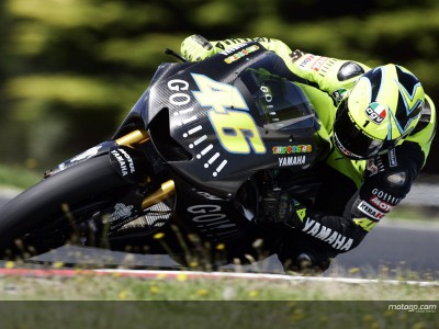 Rossi flying high despite bad luck for bird