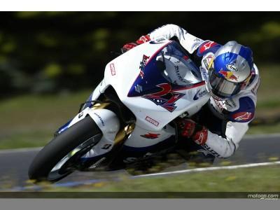 El equipo Suzuki reporta avances en Phillip Island