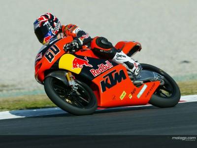 Julian Simon débute avec KTM